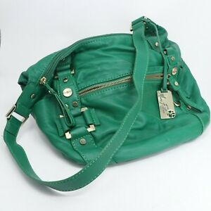 Marc Fisher Green Soft PVC Crossbody/Shoulder bag