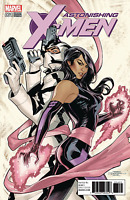 ASTONISHING X-MEN #1 TERRY DODSON VARIANT MARVEL PSYLOCKE WOLVERINE GAMBIT