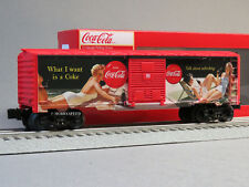 LIONEL COCA COLA VINTAGE PIN UP GIRLS BOXCAR O GAUGE train coke pop 6-84612 NEW