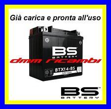 Batteria BS SLA Gel APRILIA SHIVER 750 07>08 già carica pronta all'uso 2007 2008
