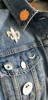 Levis Strauss Women's Fitted Distressed Button Down  Jean Jacket  Size XL Unique