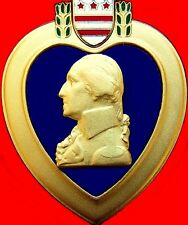 ORIGINAL UNITED STATES PURPLE HEART MEDAL ORDER AWARDED FOR WOUNDS RECEIVED