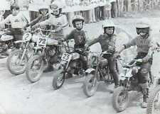 Foto Vera Motocross Junior particolare partenza anni '70