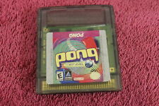 Pong The Next Level Gameboy Colour/Advance/SP - FREE POST