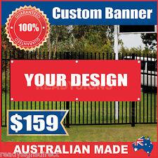 Custom Outdoor Vinyl Banner Sign - 4500mm x 900mm - Australian Made