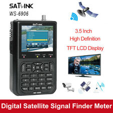 "Satlink WS-6906 Satellite Signal Finder Receiver Meter 3.5"" DVB-S LCD for TV AV"