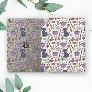 Cute Witch Accessories Halloween Case For iPad 10.2 Pro 12.9 10.5 9.7 Air 3 Mini