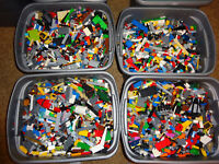Bulk LEGO LOT! 5 pound box of Bricks, parts, Pieces, Tires, accessories 5 pounds
