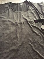 RBX Active Womens Top Activewear Size 2X Charcoal New With Tags