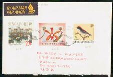 Mayfairstamps SINGAPORE COMMERCIAL 1992 COVER TO DUBLIN OH USA wwk40907