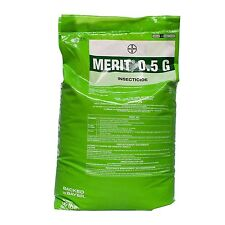 Merit 0.5 G Granules Insecticide 30 Lb Preventive Curative Lawns Plants Grubs ++