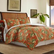 Tommy Bahama Rio De Janeiro 4Piece QUEEN comforter Set Tropical Floral NEW