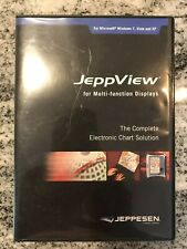 JeppView Electronic Charts by Jeppesen. Includes Serial Number