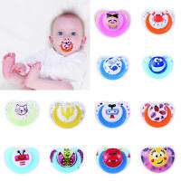 Newborn Baby Kids Pacifier Infant Boy Girls Silicone Dummy Teeth Nipples Soother
