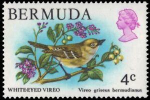 "BERMUDA 364 (SG388) - White-eyed Vireo ""Vireo griseus"" (pa87251)"