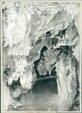1939 Cavern of Sleep in Timpanogas Caves Original News Service Photo