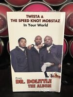 Twista In Your World SEALED Cassette Tape Single Chicago Rap Hip Hop Speed Knot