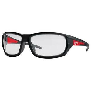 Milwaukee 48-73-2020 Performance Safety Glasses with Clear Lenses, Fog Free Lens