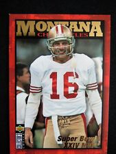 "1995 JOE MONTANA - Coll. Choice ""Chronicles"" Football Card- # JM9 - S.F. 49ers"