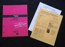 Original 1974 John Deere 1400 Zero Till Planter Operators Manual Near Mint