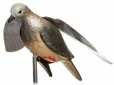 "Realistic Animated Winged Dove Decoy Clip & 22"" Stake Brand NEW Factory Sealed"