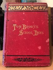 Vintage Tom Brown's School Days By An Old Man 1888