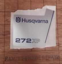 OEM Husqvarna 503623903 Decal 272xp chainsaw
