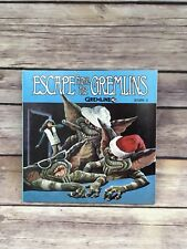 Gremlins 1984 Record Book Escape from the Gremlins Story 3 Paperback & 33 record