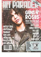 GUNS N' ROSES Slash in leather HP  magazine PHOTO / Poster / Clipping 11x8 inch