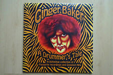 "Ginger Baker Autogramm signed LP-Cover ""A Drummer´s Tale"" Double Vinyl"