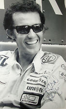 Richard Petty SIGNED 12x8 NASCAR Legendary Driver 1960s B&W Portrait