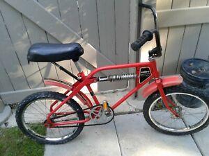 Vintage Huffy monoshock BMX 1979 amf bicycle