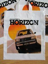 sac publicitaire Chrysler SIMCA Horizon TALBOT