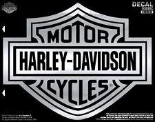 Harley Davidson Aufkleber Modell B&S Chrome 49,5 cm Breit x 39,0 cm Hoch