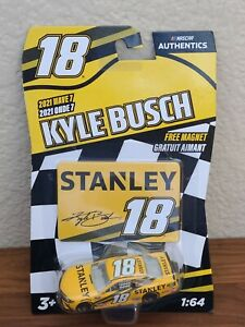 2021 Wave 7 Kyle Busch Stanley Tools 1/64 NASCAR Authentics $1 COMBINE SHIPPING