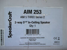 SpeakerCraft AIM 5 THREE Series 2 In-Ceiling Speaker AIM 253