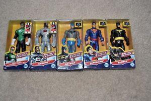 Lot Of 5 Mattel DC Justice League Batman Cyborg 6'' Figures green lantern super