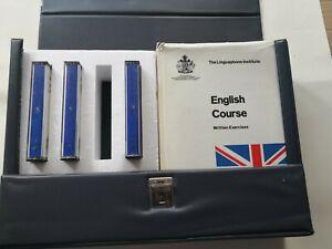 Linguaphone English Course Set of Books cassettes Please read description