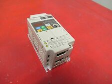 OMRON INVERTER 3G3JV-AB002  INPUT 200-240V VOLTS 3.5A A AMPS 1 PHASE 0.25KW USED