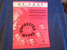 At Last from the Film Orchestra Wives/Glenn Miller & Movie's Stars Cover Photos