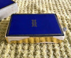 Frisco Railroad Playing Cards    Pull Out Box    Dark Blue Back