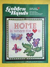 Golden Hands - Part 12, Crochet, Knitting, Dressmaking, Embroidery, Magazine