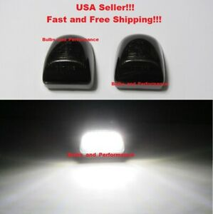 LED LICENSE PLATE LIGHTS LAMPS for 2002 2003 2004 2005 2006 CADILLAC ESCALADE