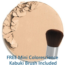 Colorescience Pressed Mineral Foundation + Brush - Warm Medium / California Girl
