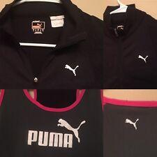 a46638fc1188 PUMA M Black Light Thumbholes Stretch Jacket   Gray Pink Tank Top Woman LOT  ...