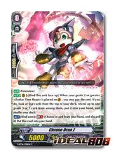 Cardfight Vanguard  x 4 Chrono Dran Z - G-BT14/098EN - C Pack Fresh Mint