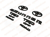 For 2014-2018 TOYOTA 4RUNNER BLACKOUT EMBLEM OVERLAY KIT OEM TRD OFF ROAD