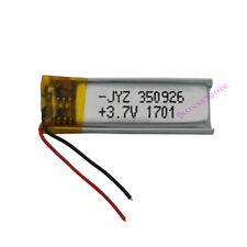 3.7V 60 mAh Polymer Li ion battery LiPo For Mp3 GPS Bluetooth pen Sat nav 350926