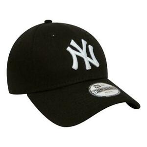 New Era NY Yankees Essential Kids 9 Forty Cap - Black - Child NEW