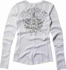 Fox Racing Fox Girl Spirit Long Sleeve L/S Shirt White, Medium